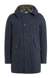 Blauer Jacket With Hood Blue