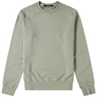 Ksubi Seeing Lines Decon Crew Sweat Green