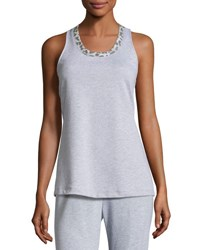 Cosabella Sterling Racerback Lounge Camisole Heather Gray