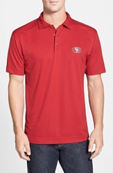 Men's Big And Tall Cutter And Buck 'San Francisco 49Ers Genre' Drytec Moisture Wicking Polo