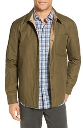 Billy Reid Men's Reversible Water Resistant Shirt Jacket