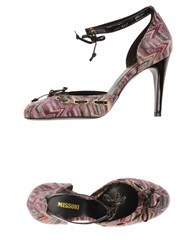 Missoni Footwear Courts Women Garnet