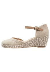 Dockers By Gerli Wedges Desert Beige