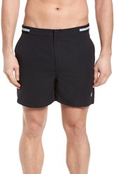 Fred Perry Tape Swim Shorts Navy