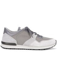 Tod's Lace Up Sneakers Grey