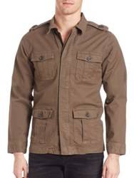 Frame Denim L'homme Military Jacket Olive