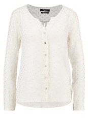 Teddy Smith Celia Blouse Blanc White