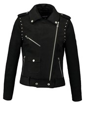 Morgan Leather Jacket Noir Black