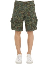 G Star Rovic Relaxed Ripstop Cargo Shorts Army Camo