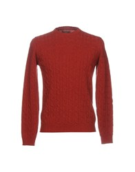 Kaos Sweaters Brick Red
