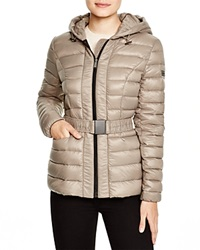 Dkny Lightweight Hooded Puffer Jacket