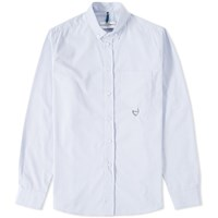 Over All Master Cloth Oamc Feather Shirt Blue