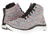 Skechers Flex Appeal 2.0 Chukka Black Multi Women's Shoes