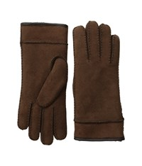 Ugg Frosted Turn Cuff Gloves Chocolate Multi Extreme Cold Weather Gloves Brown