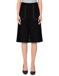Philosophy Di Alberta Ferretti Trousers 3 4 Length Trousers Women Black