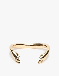 Winden Jewelry Embrace Cuff Brass