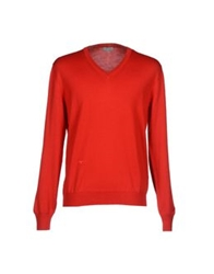 Christian Dior Dior Homme Sweaters Red