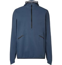 On Hooded Shell Jacket Navy