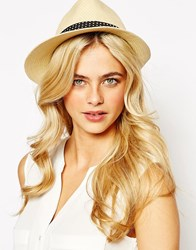 Oasis Asymmetric Hat Natural Beige