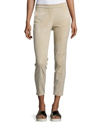 Theory Thaniel Stretch Cropped Pants Classic Khaki