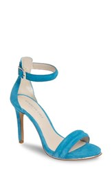 Kenneth Cole Women's New York 'Brooke' Ankle Strap Sandal Blue Jay Suede