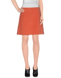 Sportmax Code Skirts Knee Length Skirts Women Coral