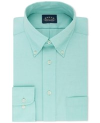 Eagle Classic Fit Stretch Collar Non Iron Solid Dress Shirt Mint