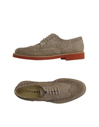 Cafe'noir Cafenoir Footwear Lace Up Shoes Men Khaki