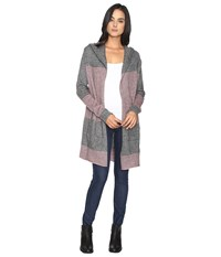 Carve Designs Alamosa Hooded Coat Charcoal Women's Coat Gray
