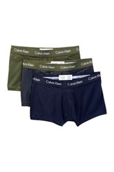 Calvin Klein Low Rise Trunk Pack Of 3 Pink