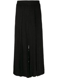 Alice Olivia Elba Wide Leg Trousers Black