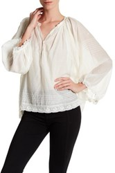 Zadig And Voltaire Trone Deluxe Blouse White