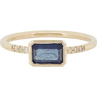 Jennie Kwon Women's Sapphire Pave Diamond And Gold Ring No Color