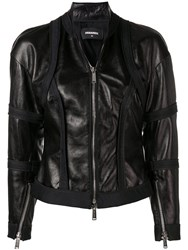 Dsquared2 Fitted Jacket Black