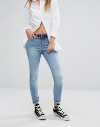 Noisy May Lucy Super Slim Jeans Light Wash Blue