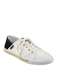 Tommy Hilfiger Flip 4 Tie Up Sneakers Light Natural