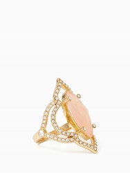 Kate Spade Lantern Gems Ring Cherry Quartz