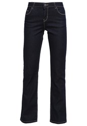 Dorothy Perkins Bootcut Jeans Darkblue Denim Dark Blue Denim