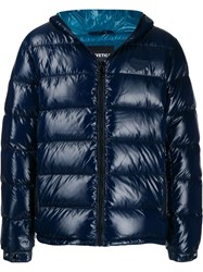 Duvetica Hooded Down Jacket Blue