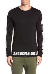 Alo Yoga Fairfax Long Sleeve T Shirt New York