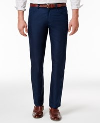 Inc International Concepts Men's Slim Fit Navy Pants Only At Macy's
