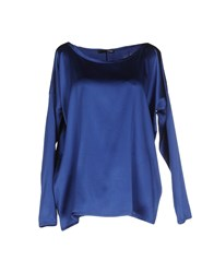 .Tessa Shirts Blouses Women Blue