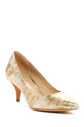 Kenneth Cole Reaction Mirror Me Pump Metallic