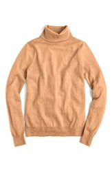 J.Crew Women's Tippi Turtleneck Sweater Heather Saddle