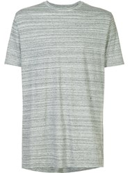 Zanerobe Striped T Shirt Grey