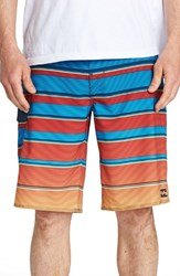 Billabong All Day X Stripe Board Shorts Blue