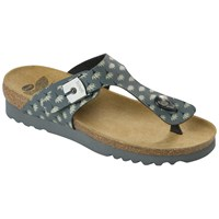Scholl Boa Vista Toe Post Sandals Dark Grey