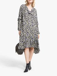 And Or Prairie Animal Print Dress Multi