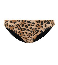 Karla Colletto Lanai Reversible Bikini Bottoms Brown
