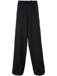 Societe Anonyme Wide Smoking Trousers Black